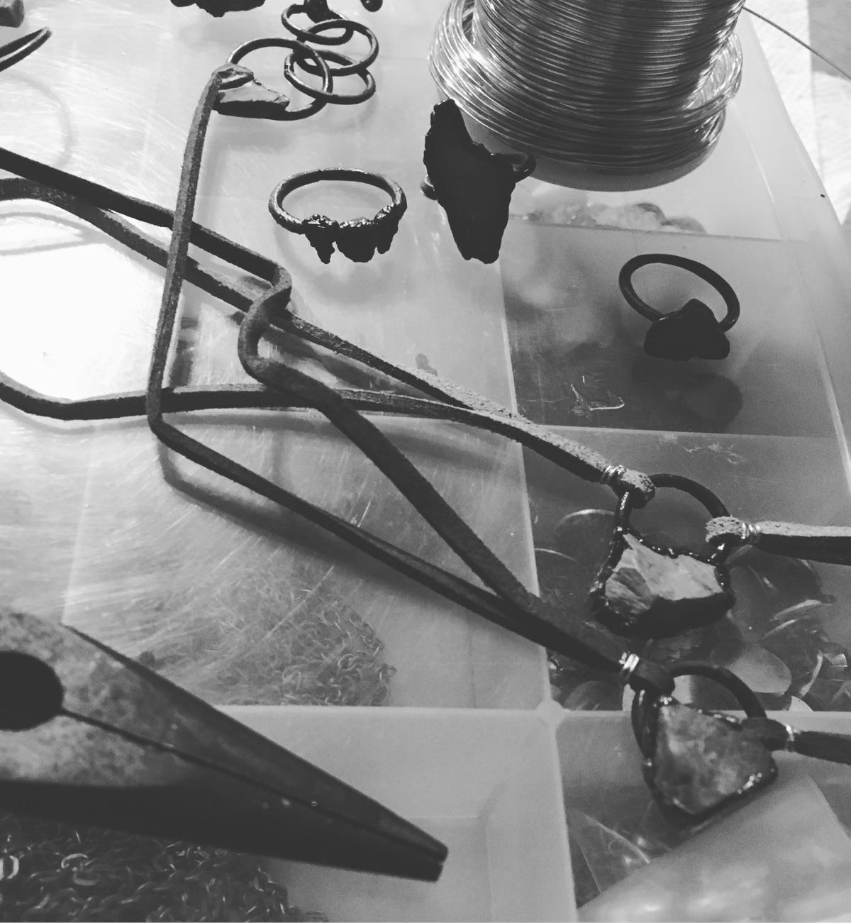 electroforming, jewelry, handmadejewelry - verdigrisdesign | ello