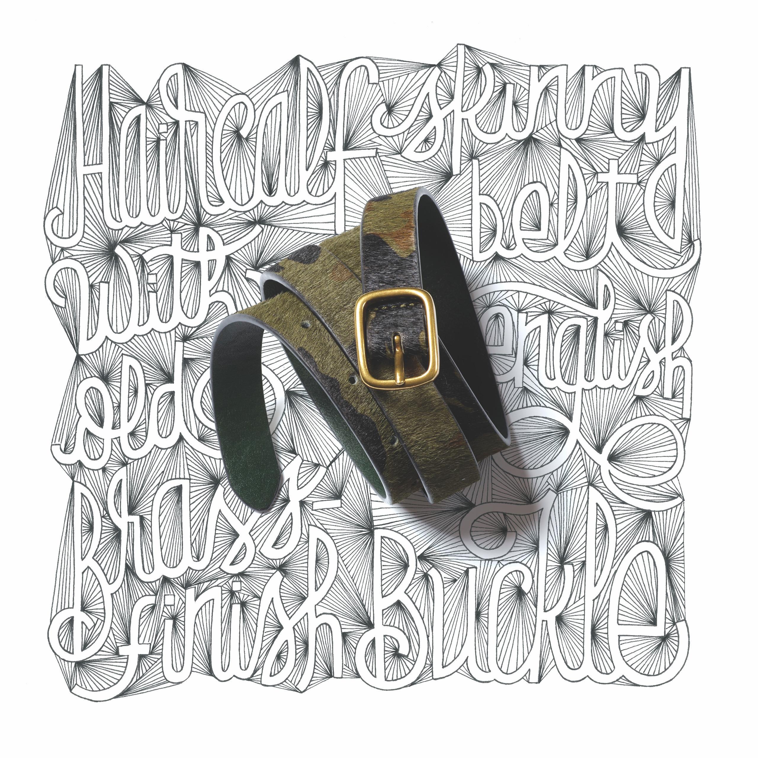 GAP handmade belts - lettering, type - leandrosenna | ello