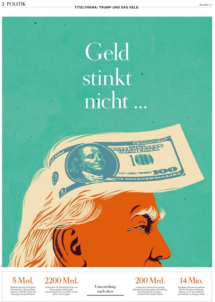 die Zeit, cover Politik section - canuivan | ello