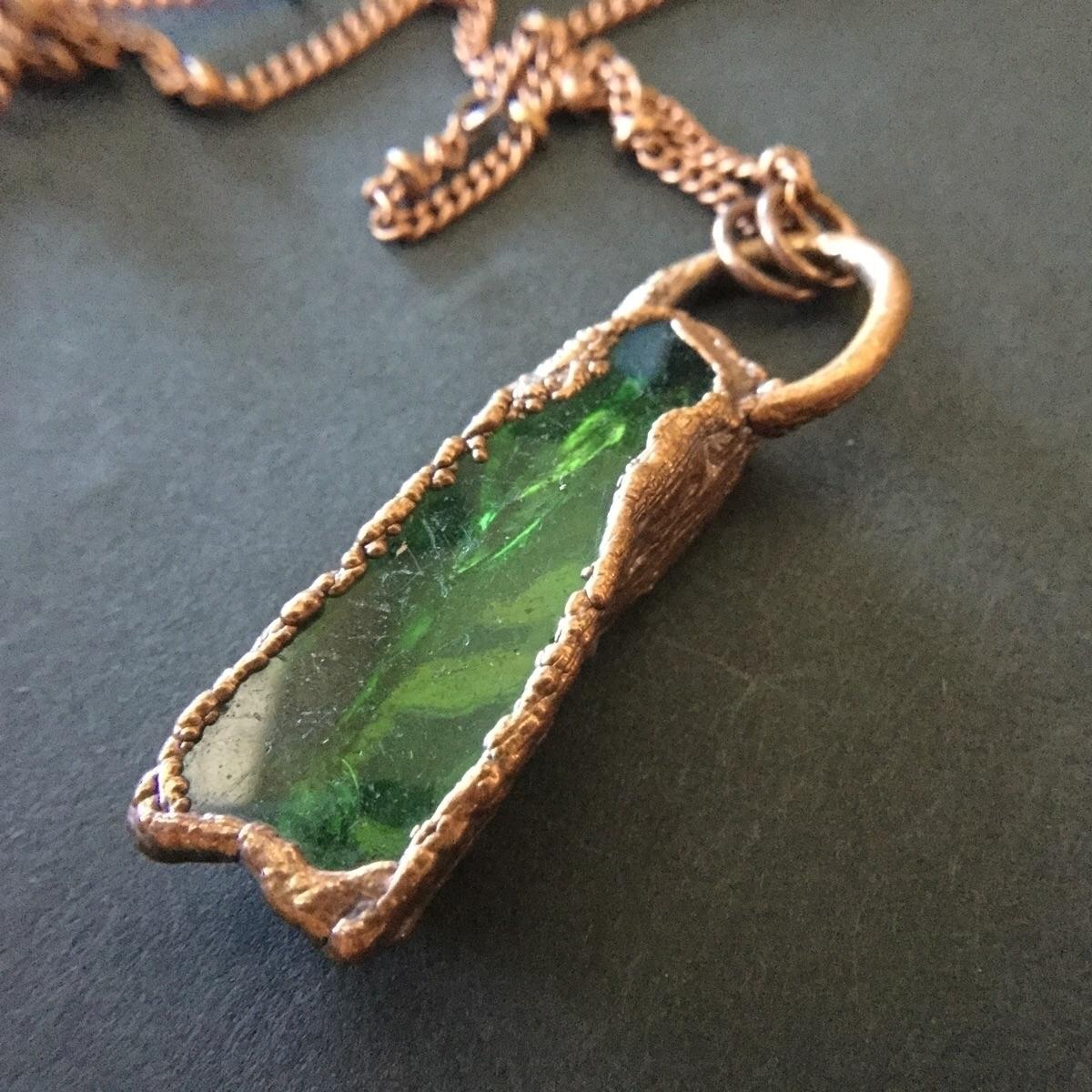 ! beautiful green piece sea gla - kinddesignsonline | ello