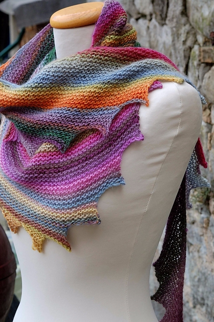 loved knitted scarf delicate ch - brunacrochet | ello
