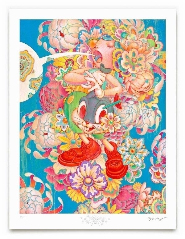 Bouquet signed numbered time-li - jamesjean | ello