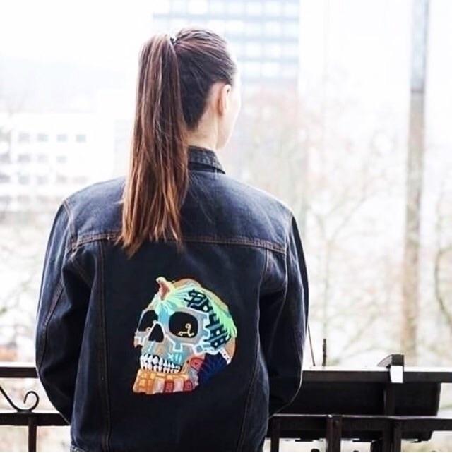 black jacket colours - vintagedenimlab - gudos | ello