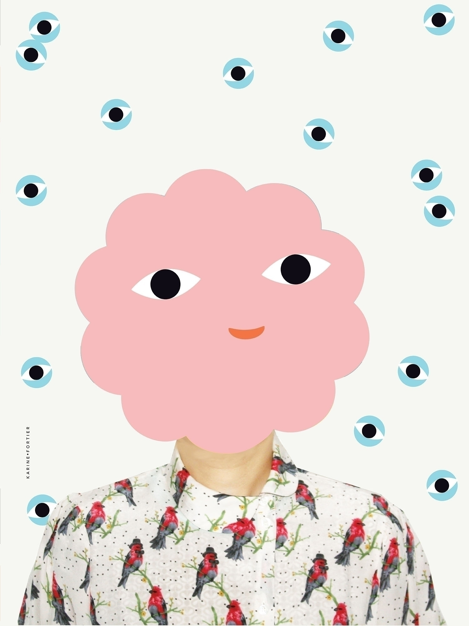illustration, CharacterSelfie - helloppomme | ello