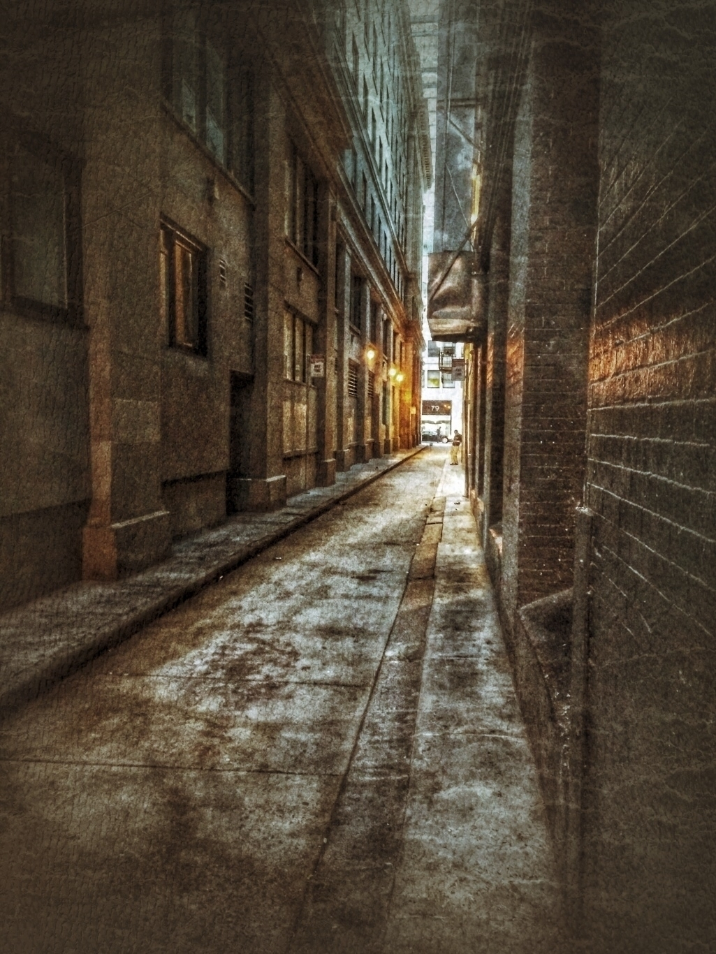 man phone. Urban Alleys series - voiceofsf | ello