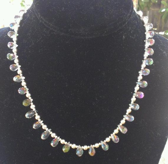 Gorgeous Mystic Topaz Necklace  - jewelsbyvittoria | ello