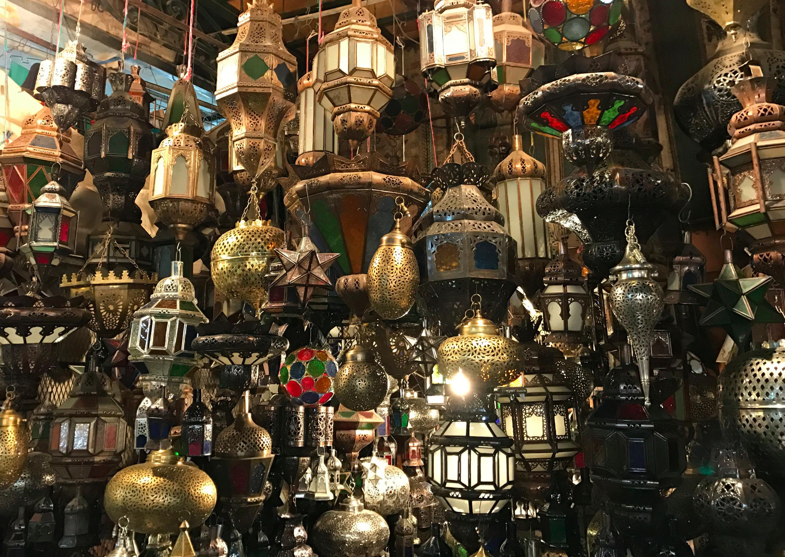 Handmade lamps Souks Marrakech - hermanotten | ello