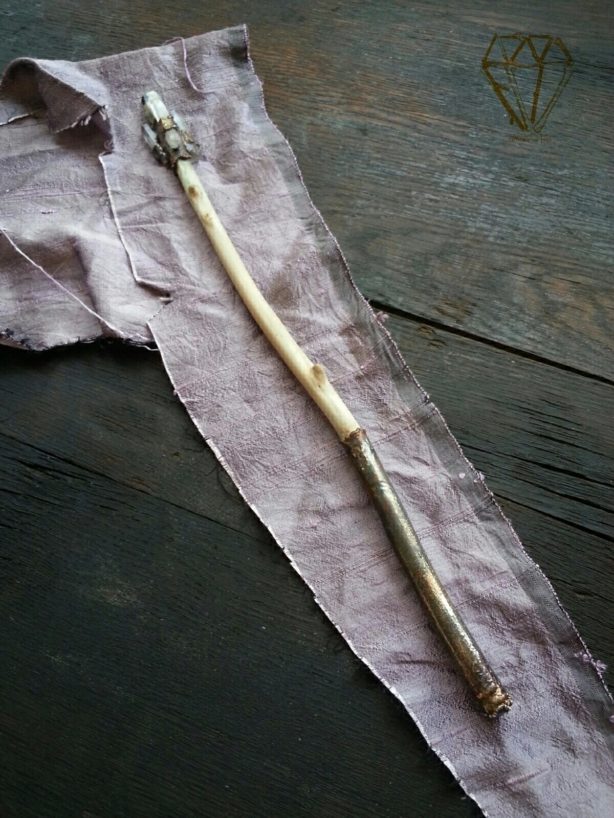 Electrofomed Willow Wand Moonst - sticksstonesandbones | ello