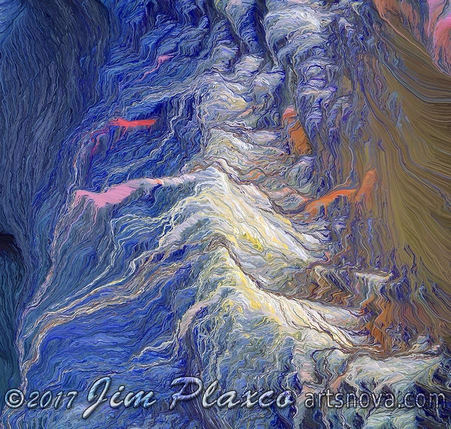 newest art Wave Breaking Beach  - jim_plaxco | ello