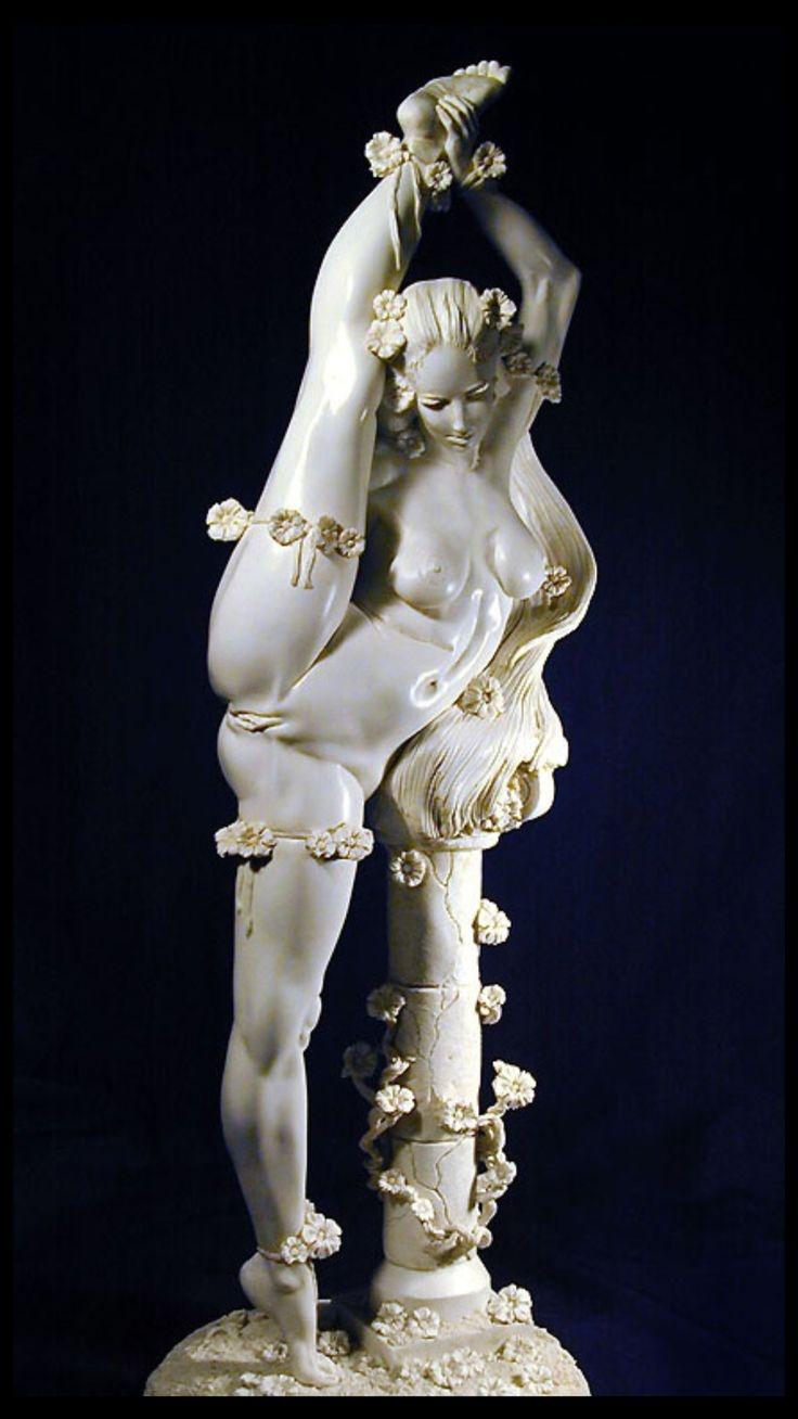 nude, sculpture, swan, art, jamiyoung - ukimalefu   ello