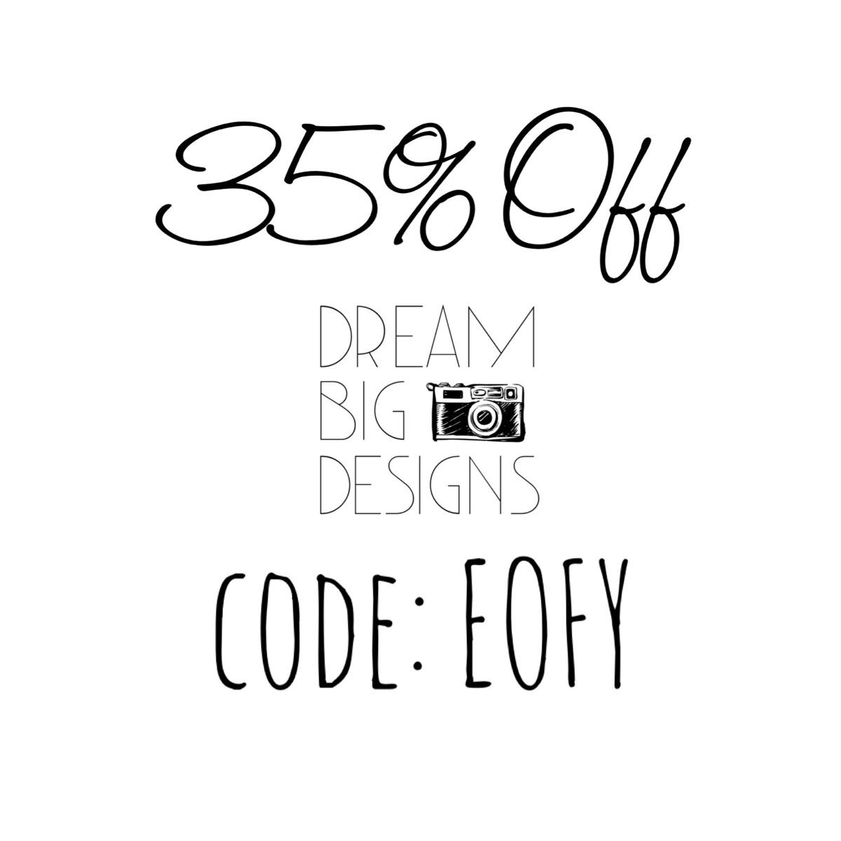 financial year sale Grab 35% st - dream_big_designs   ello