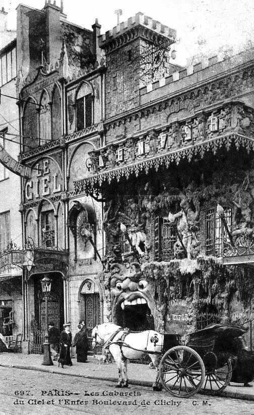 Parisian nightclub c1900s - victorian - victorianchap | ello