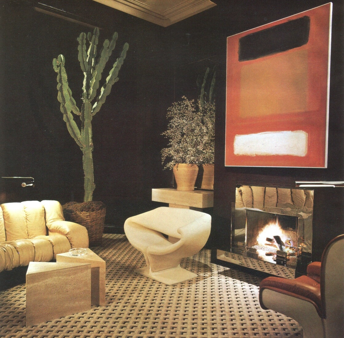 1970s interior design living ro - modernism_is_crap | ello
