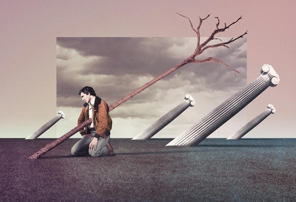 Endure Chill (2017 - collage, digital - julienp | ello