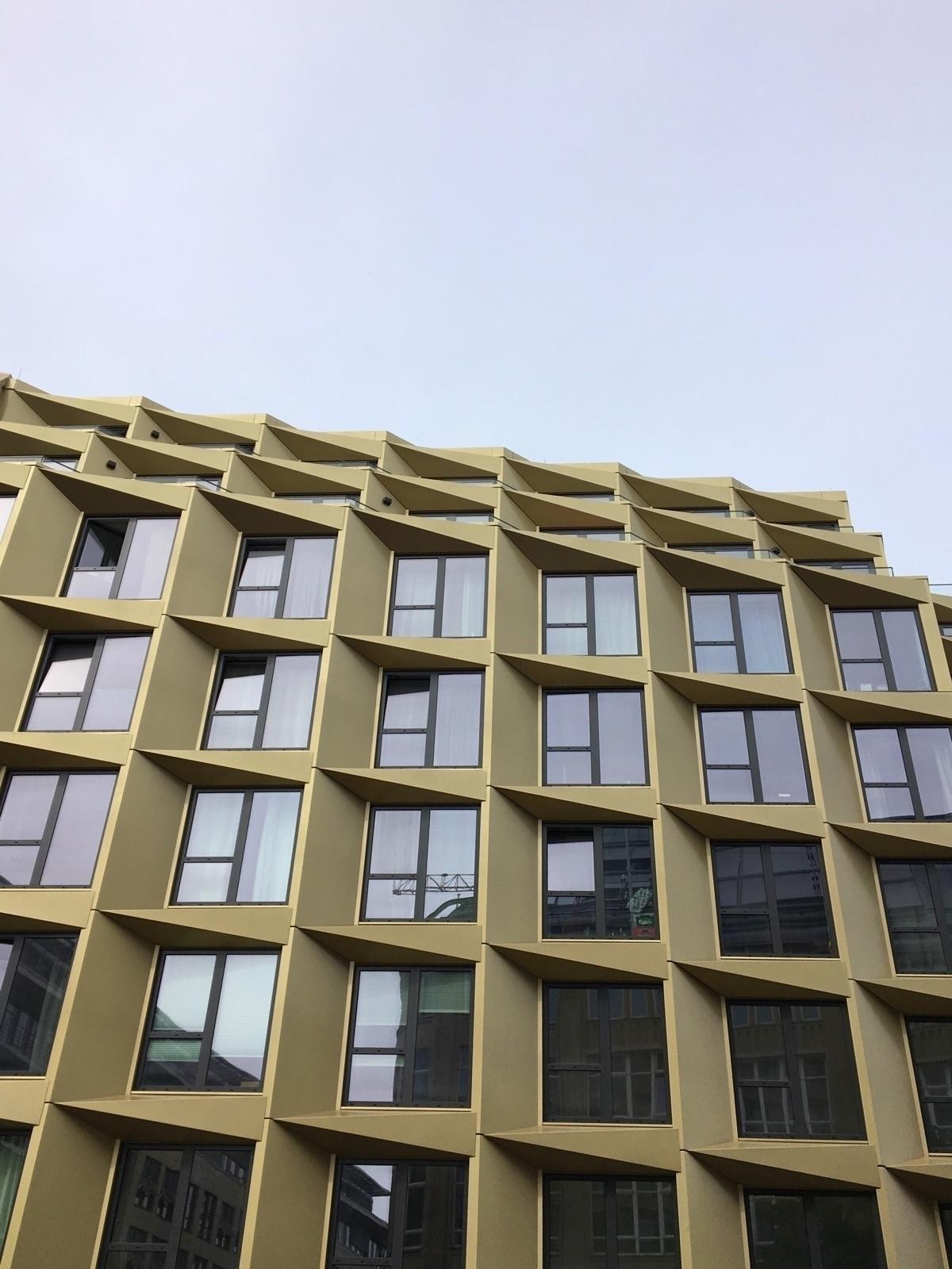 Cool/Random Apartment Building  - rowiro | ello