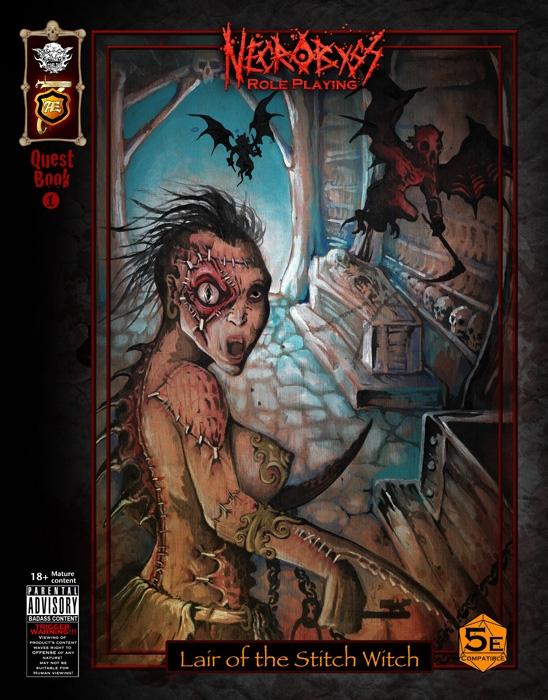 PRINT Lair Stitch Witch 5e Fant - travislegge | ello