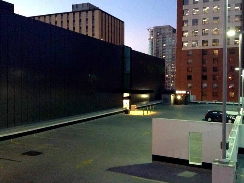 Cinematic Parking Lot - photo - dispel   ello