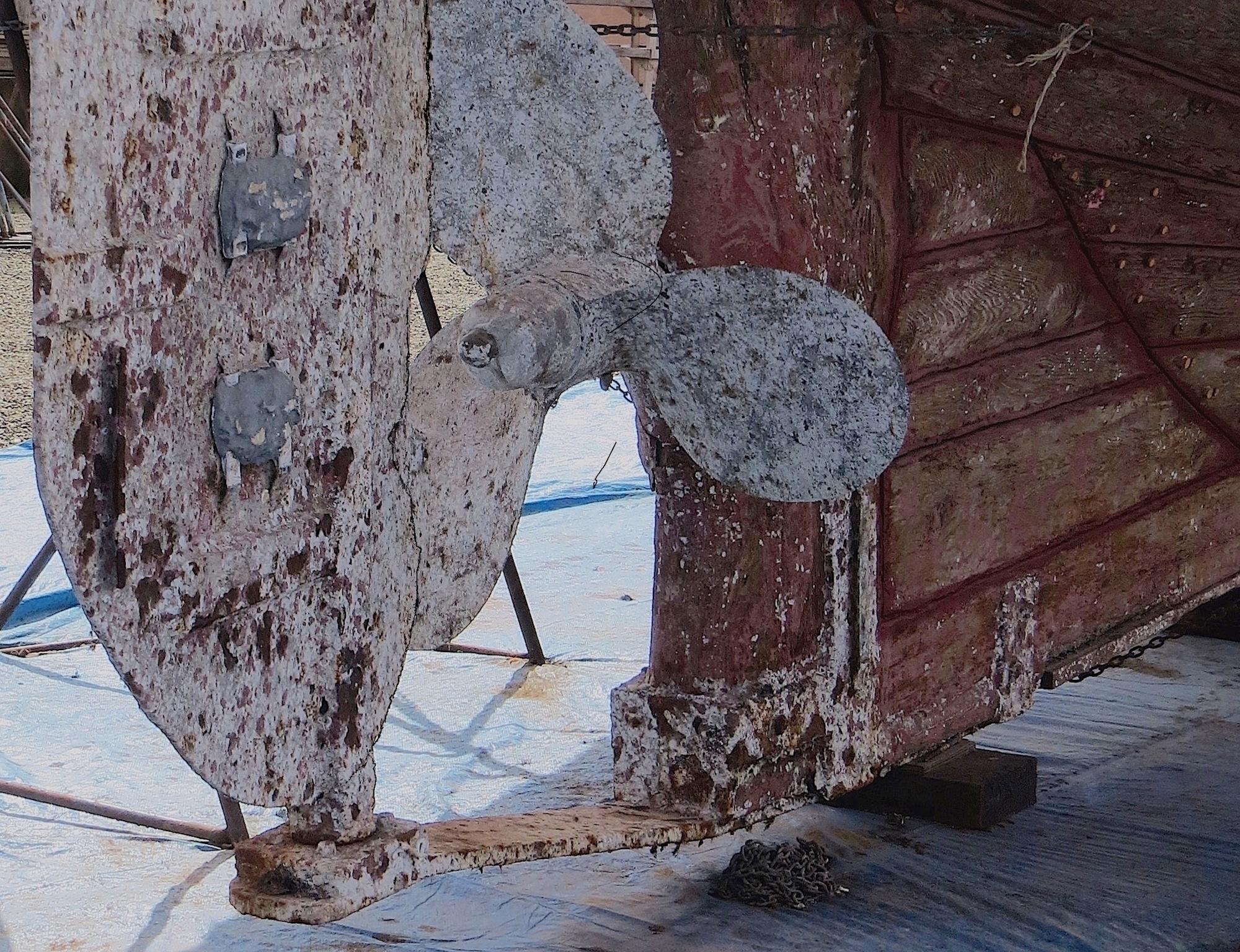 boat repaired. rehabilitated. P - dave63 | ello
