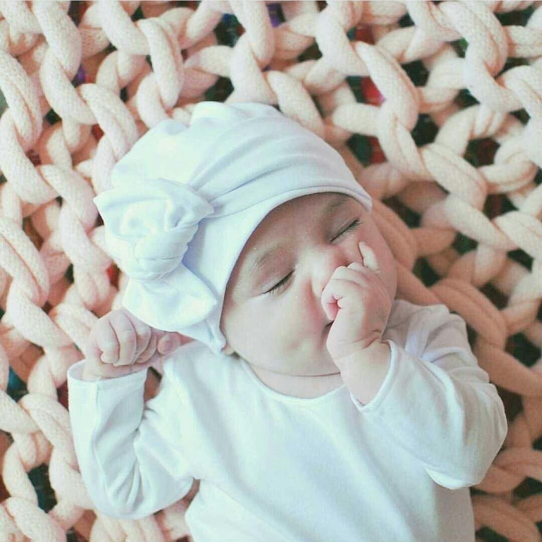 newborn bow beanies restocked!  - luluandmilly | ello