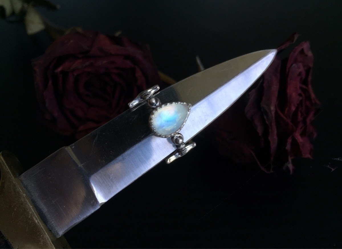 sterling silver ring handmade b - beyondthecrystalveil | ello