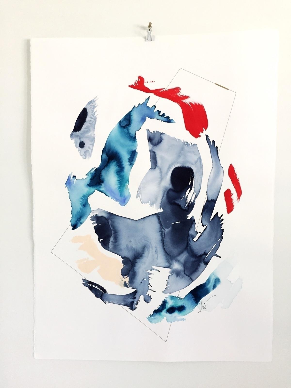 Chaos order. line  - ellomakers - ebw_artwork | ello