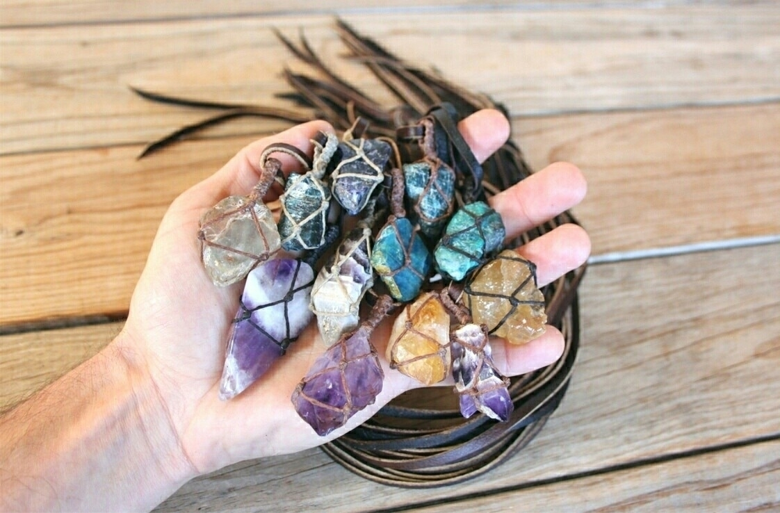 batch crystal necklaces Etsy sh - wadadaafrica | ello