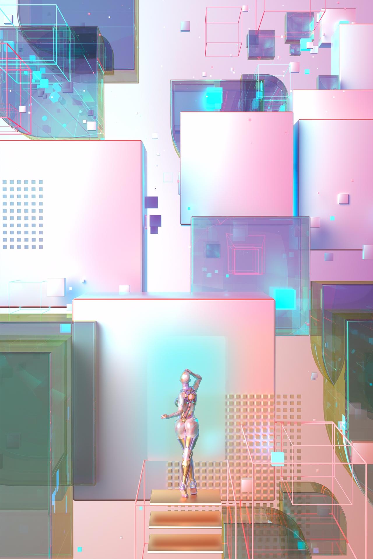 Digital Decade 5: Cyberia - blakekathryn | ello