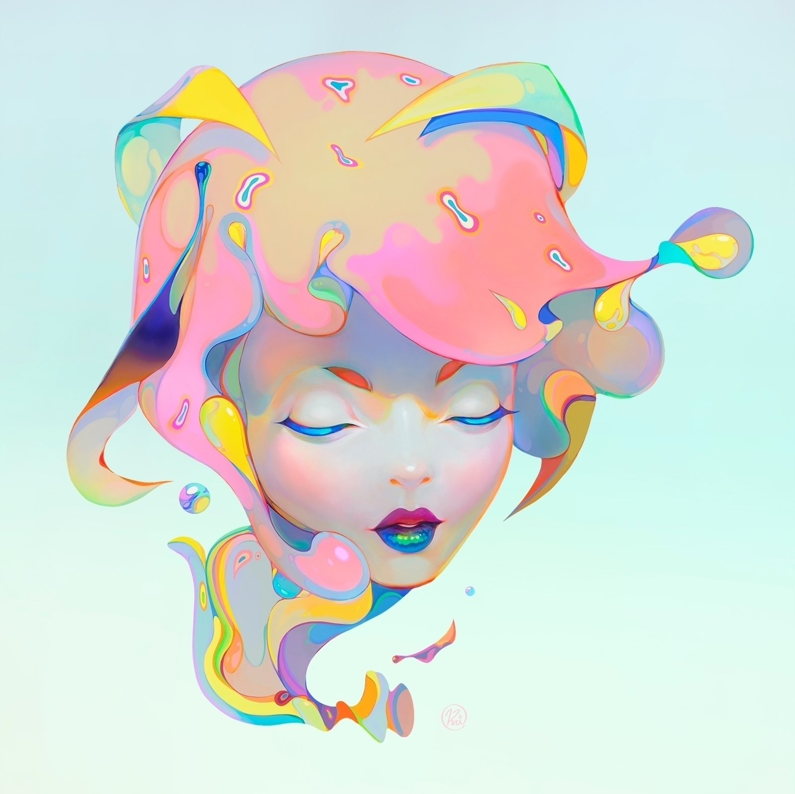 SLEEPING BUBBLE - krizpi | ello