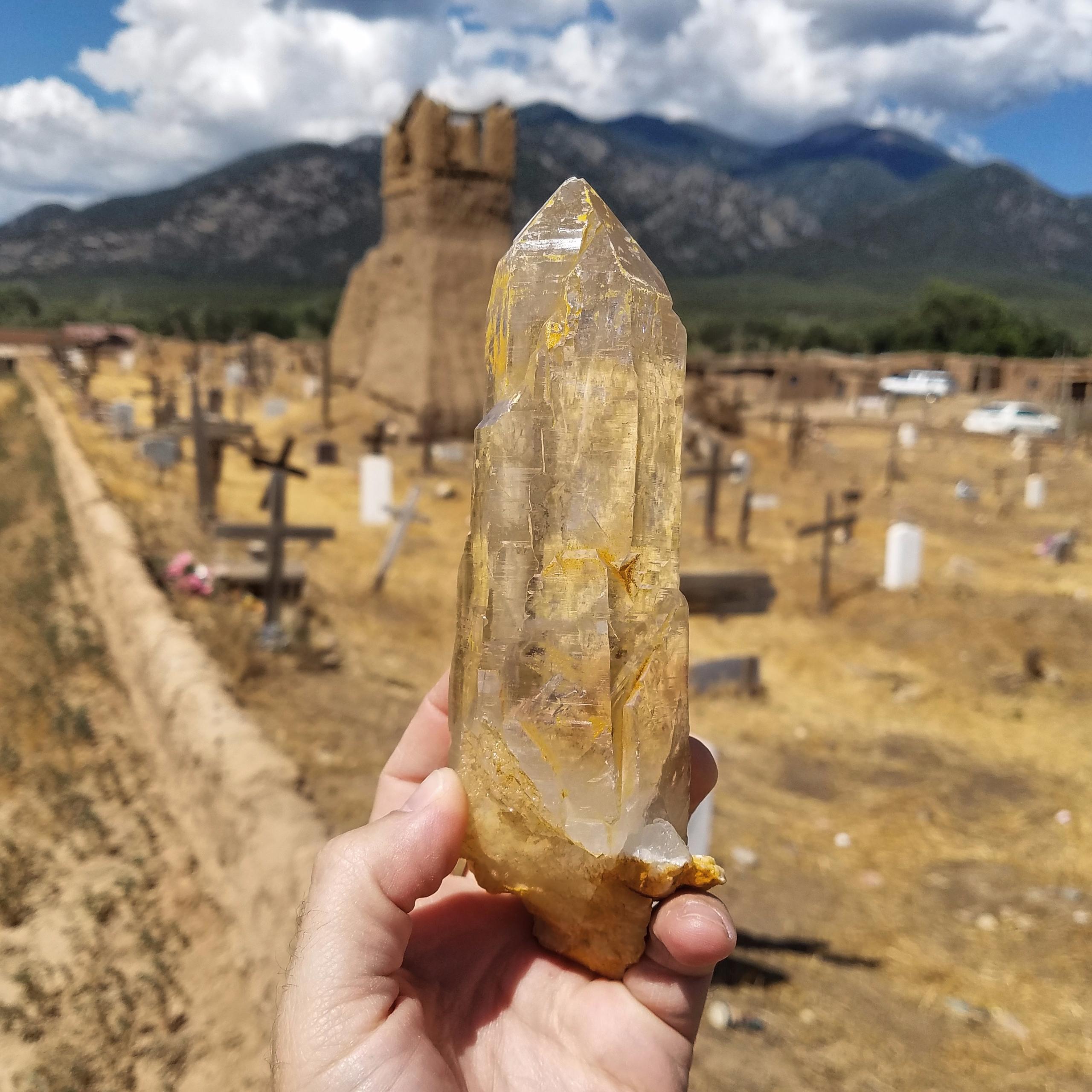 visited Taos Pueblo today, feel - themineralcollective | ello