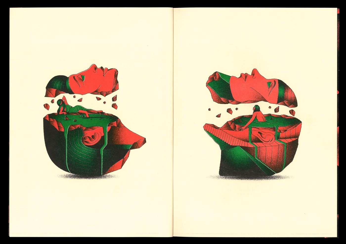 Jake Foreman Flash zine - Illustration - hereforthecolor | ello