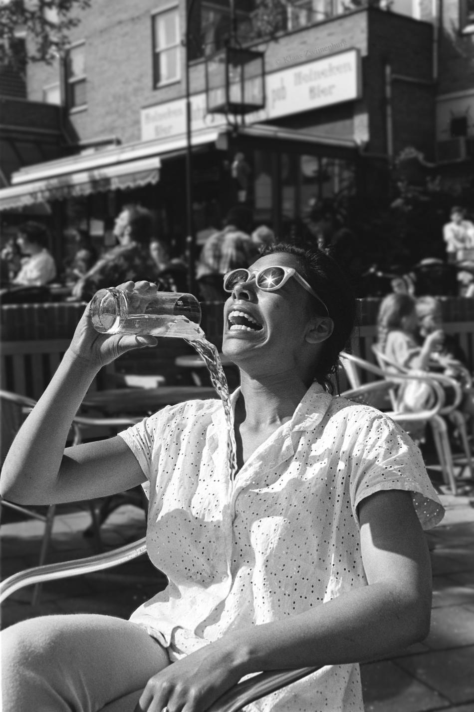 Badly aimed beverage - portrait - klaasphoto   ello