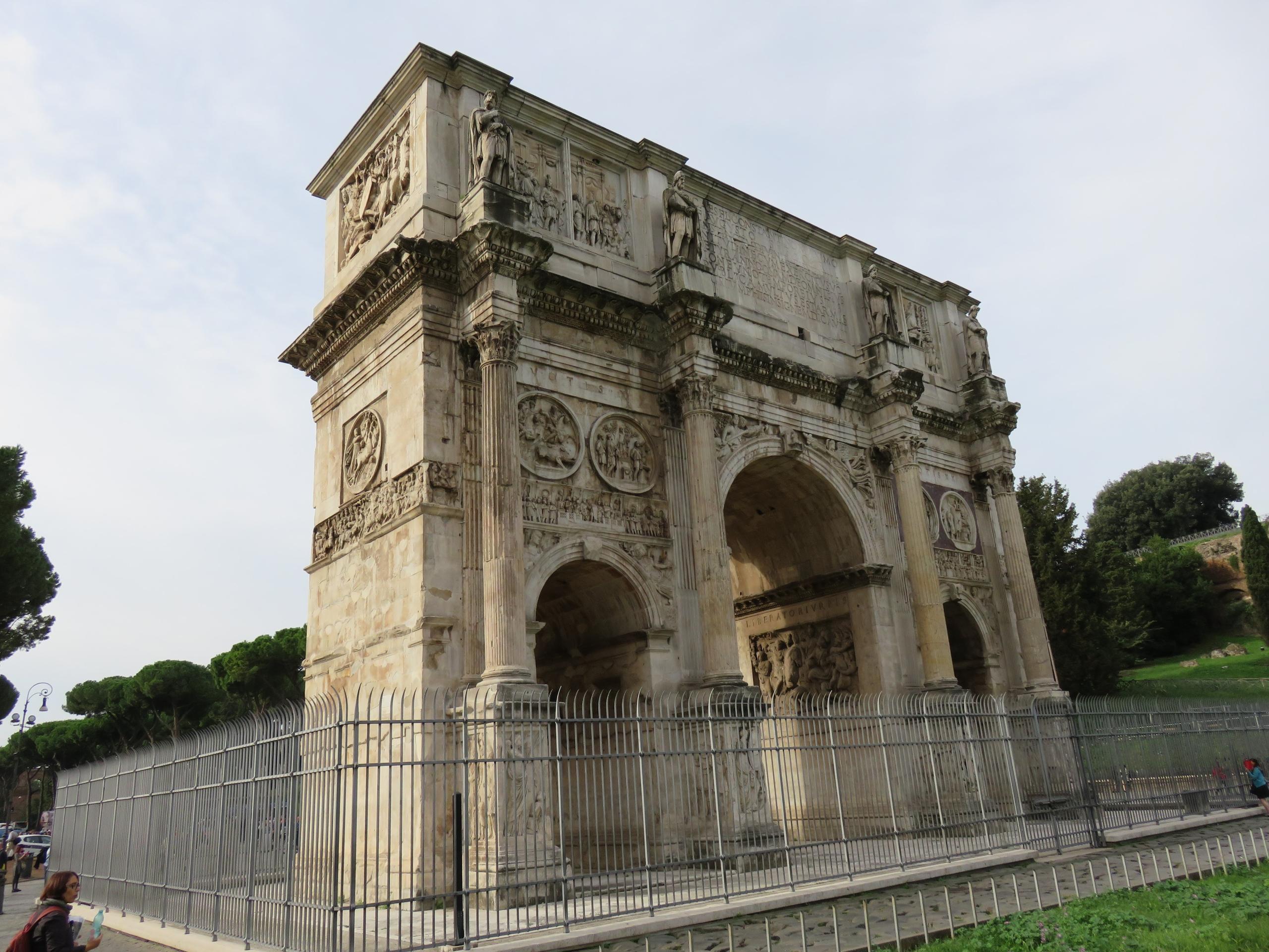 ArcoDiConstantino, Rome, history - sanftekuss   ello