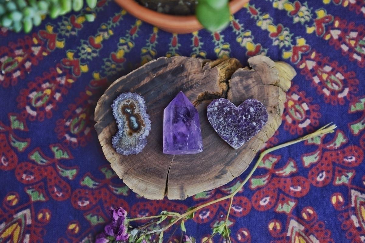 Amethyst love sale! Click link  - theeancients   ello