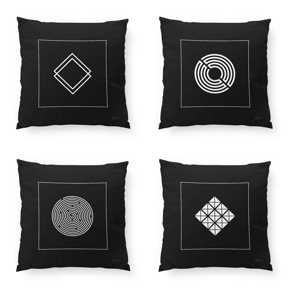 Addition Geometric Cushions 6 s - solehab   ello