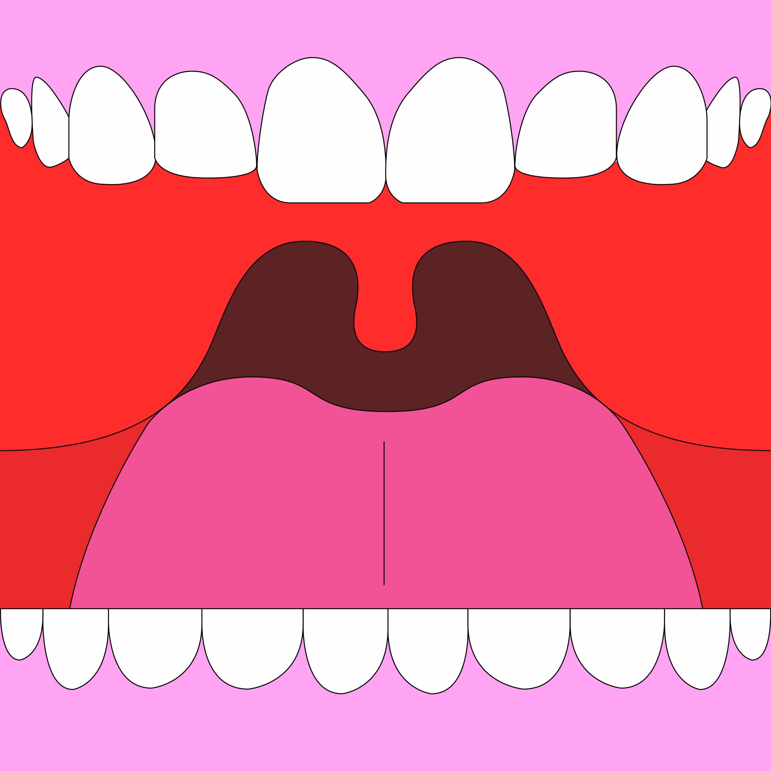 Mouth - illustration, graphicdesign - molonom | ello
