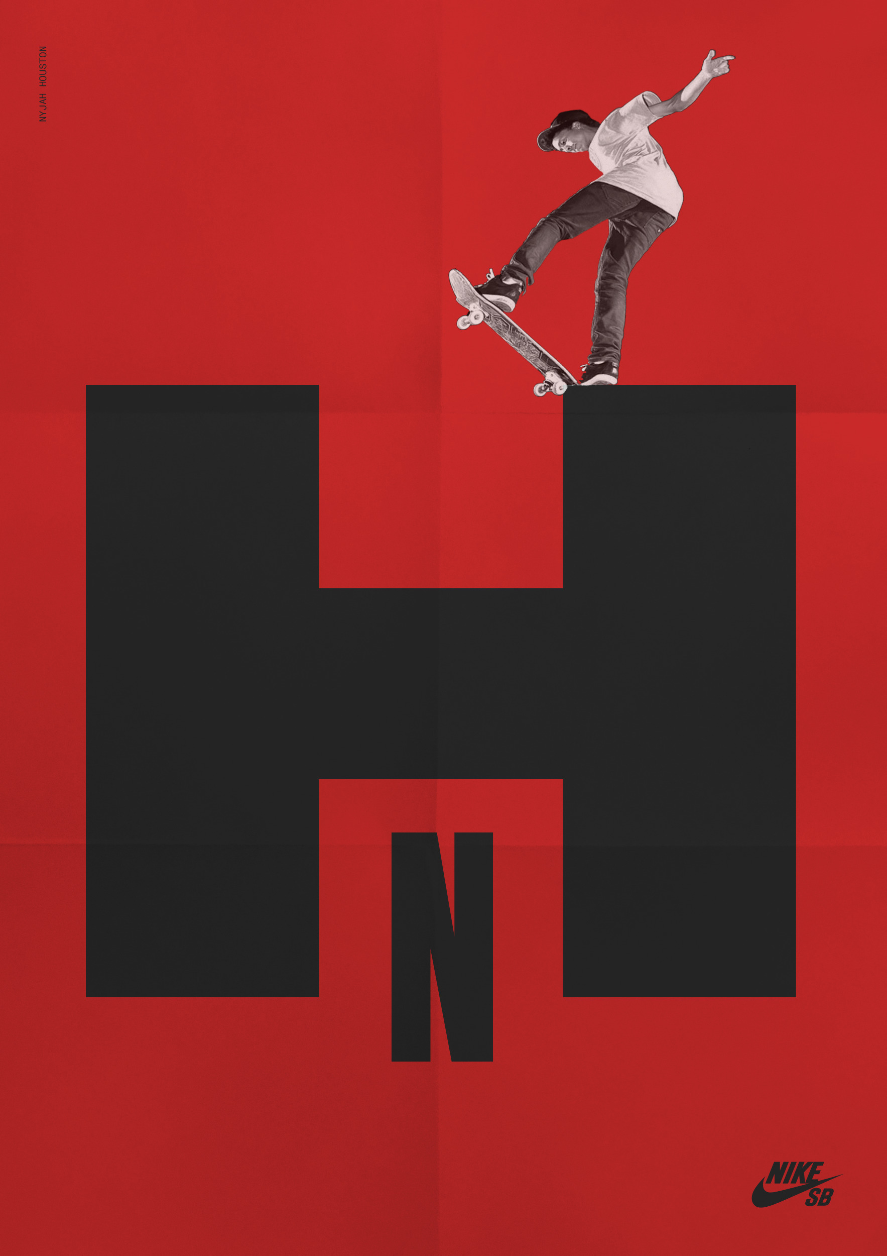 Nyjah Huston. Nike SB - luiscoderque | ello