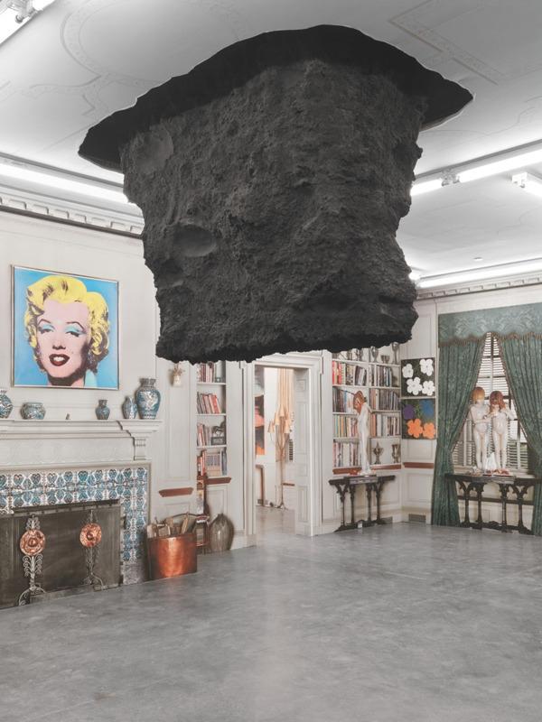 Urs Fischer - Untitled (Hole)  - modernism_is_crap | ello