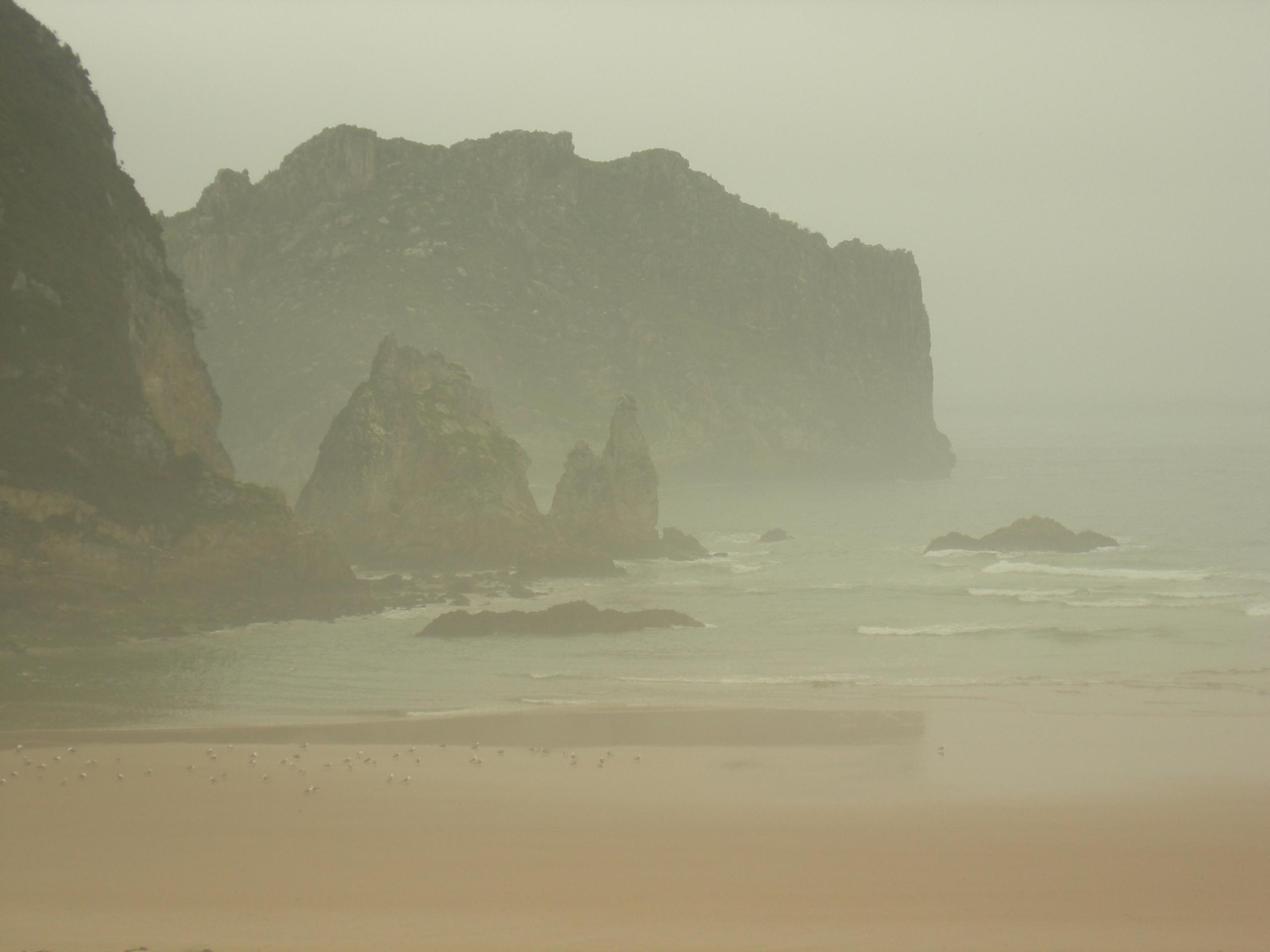 Zumaia,, Spain, beach, fog, photography - ivop | ello