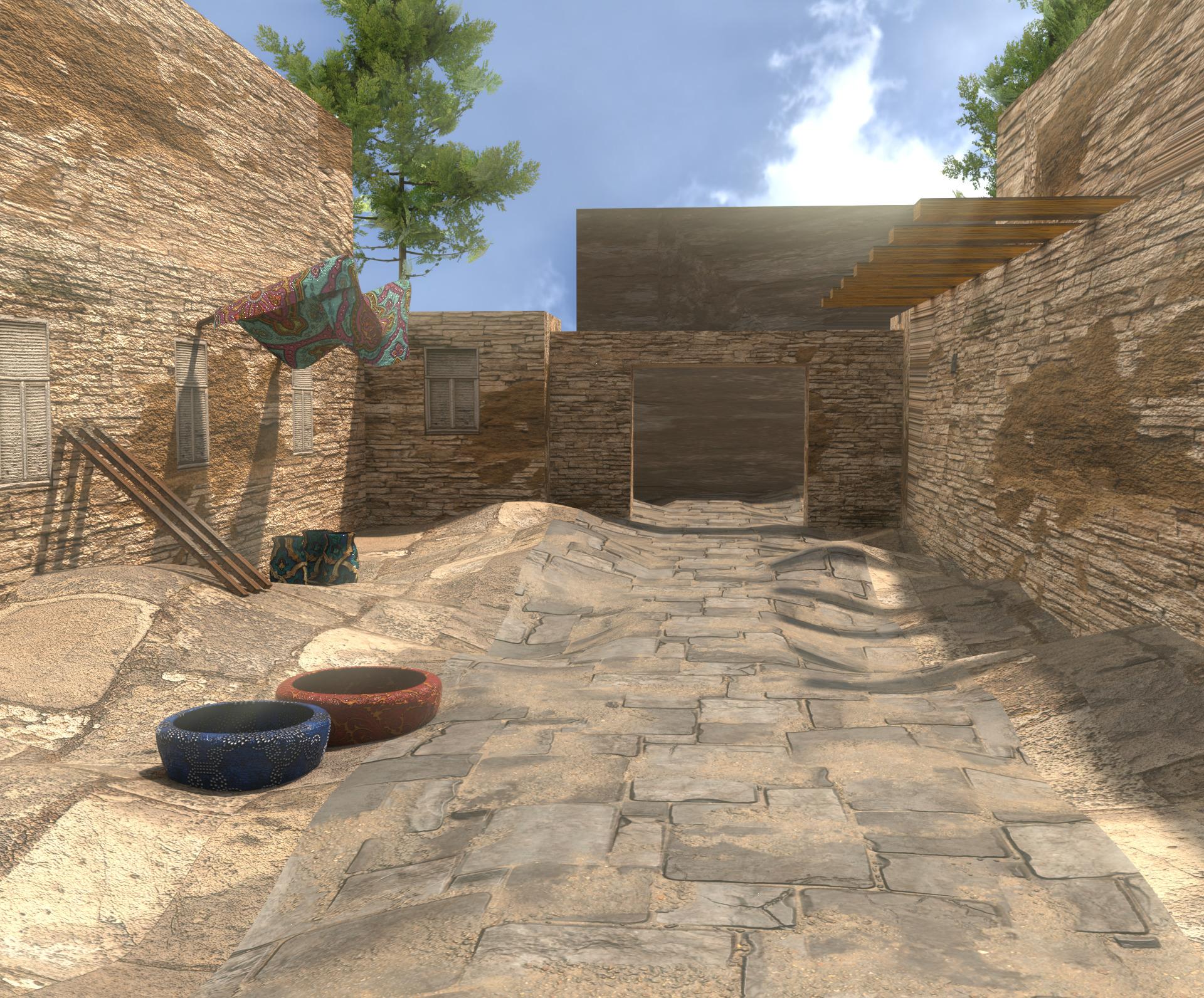 Alley - ceramic, architecture, sunshine - solutuminvictus | ello
