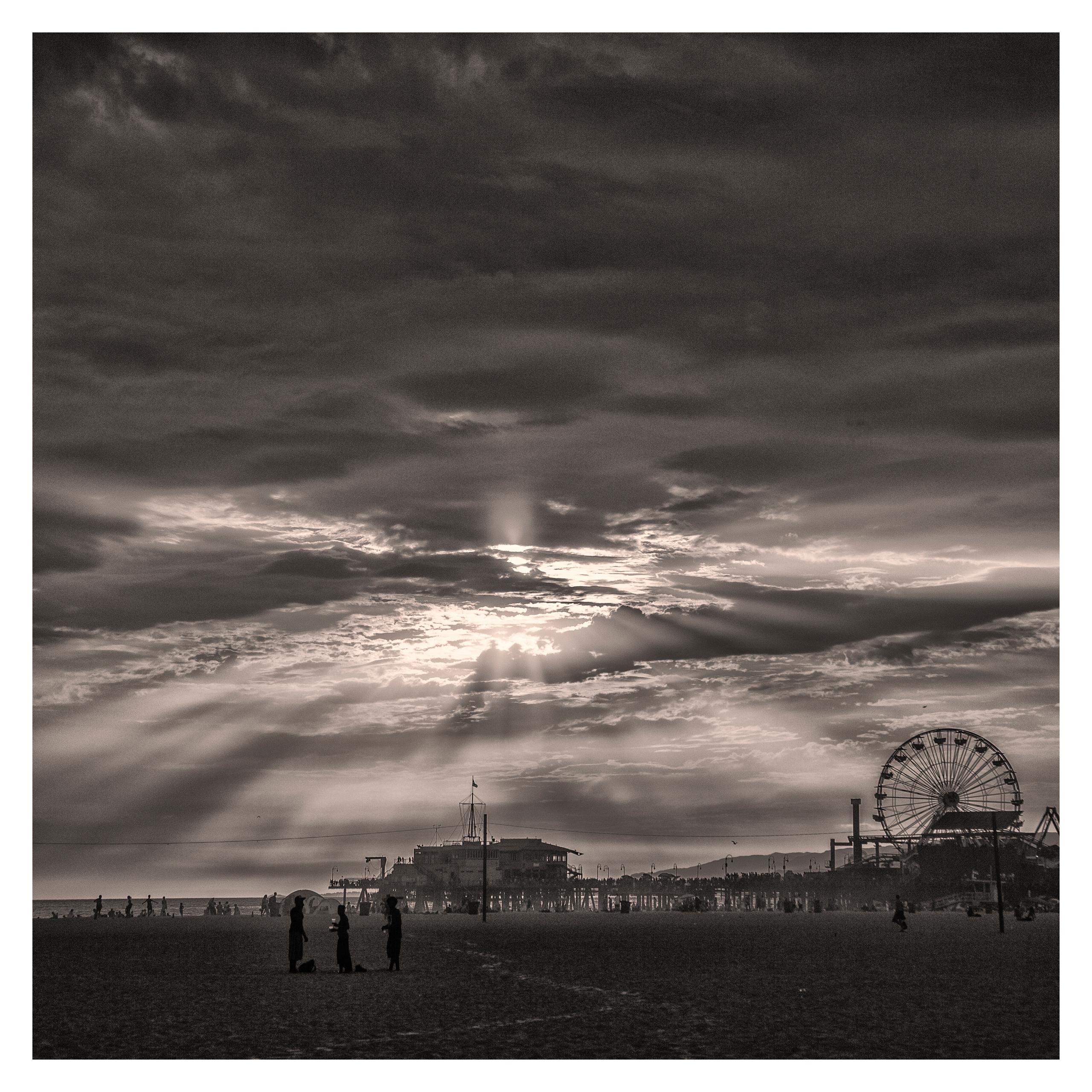 Sta. Mónica Pier Sunset, CA. US - guillermoalvarez | ello