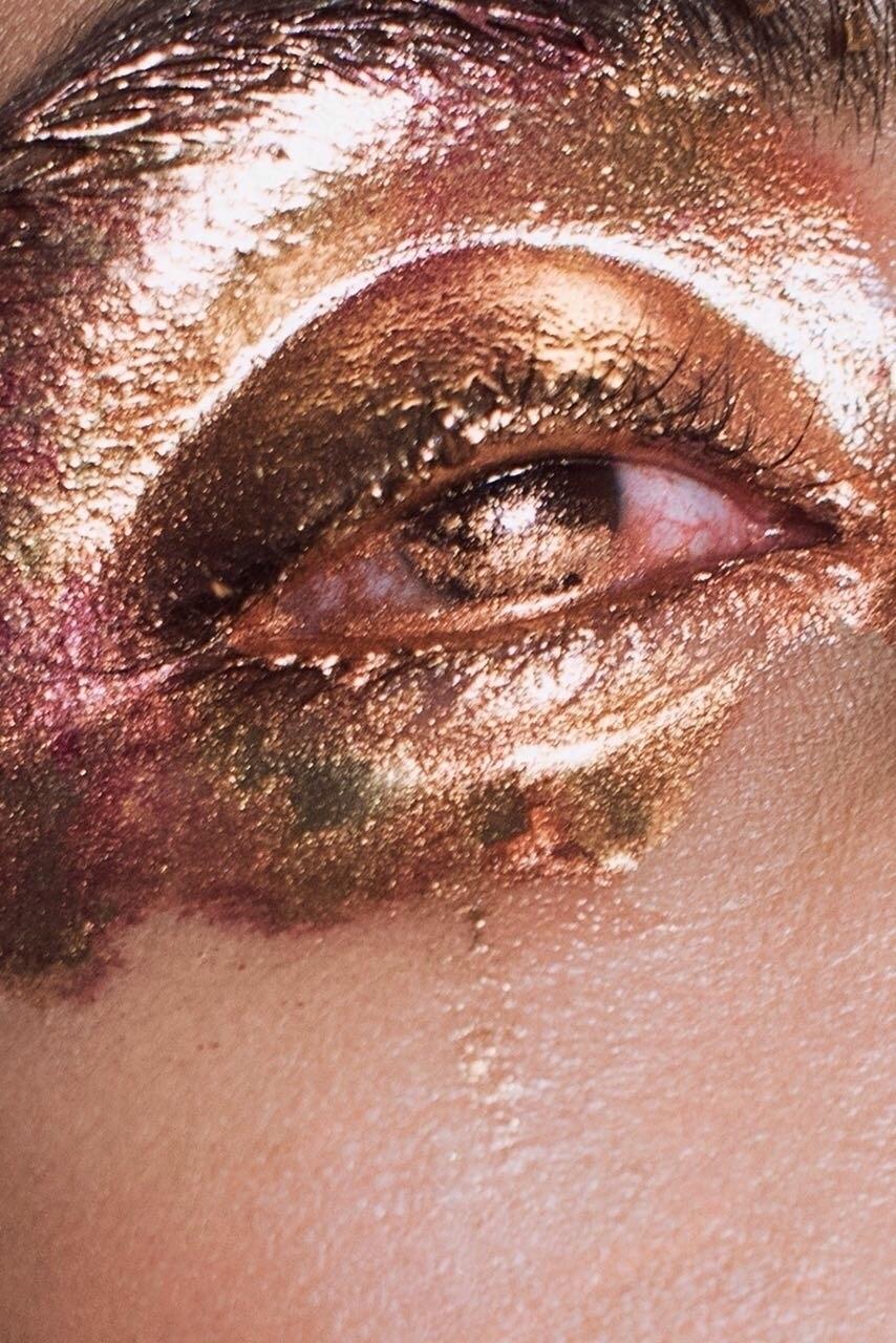 pieces series makeup editorial - nadiakosh | ello