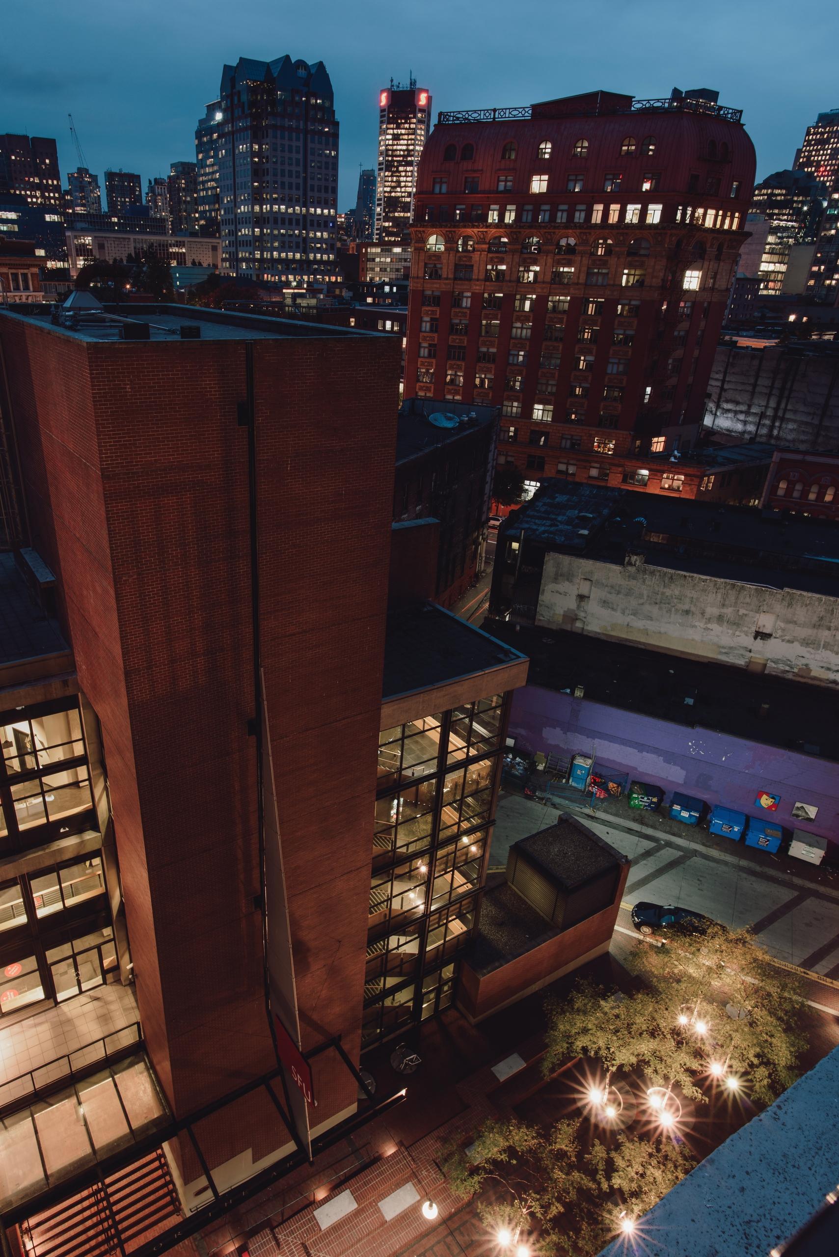 View balcony. Vancouver, BC - rhinocerous   ello
