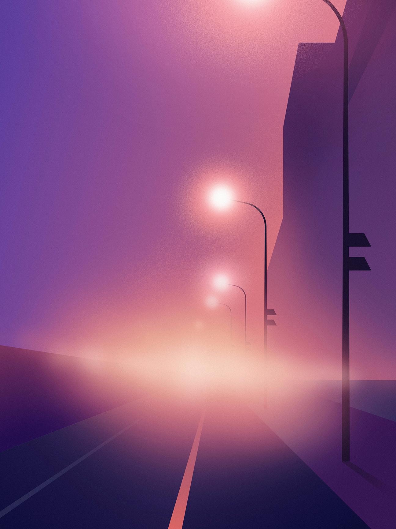 Street lights - neon, neonlights - filianstudio | ello