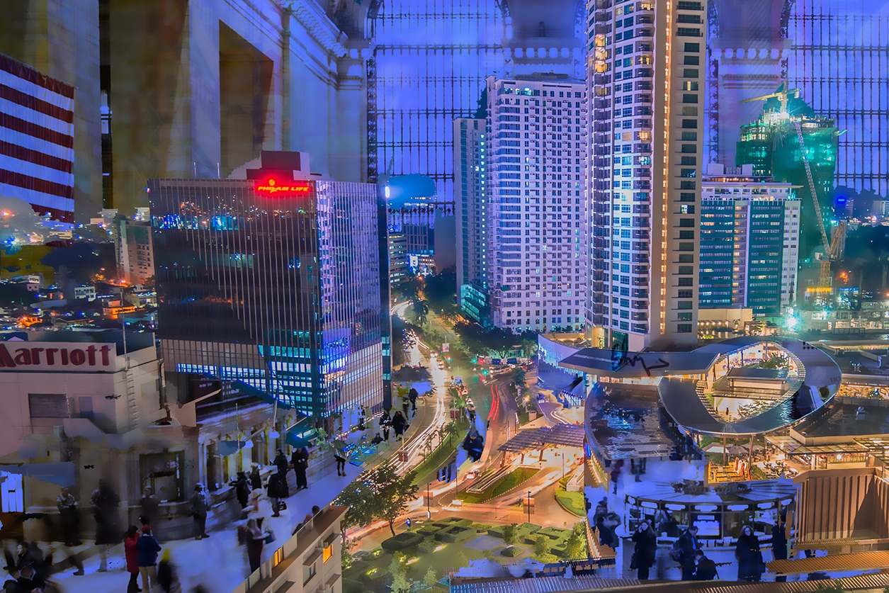 city - digitalart, mattepainting - andaelentari   ello