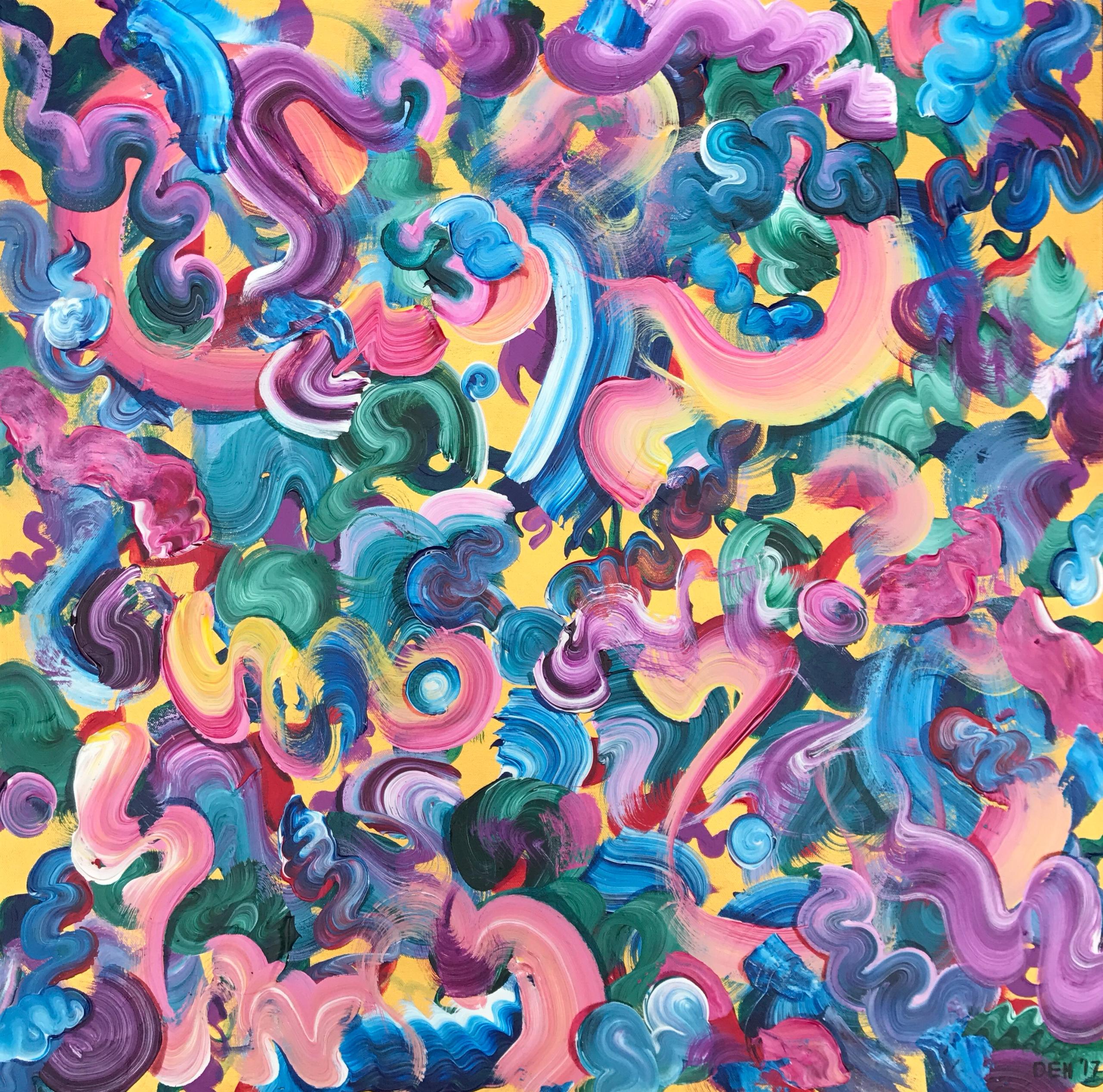 Ello! paintings combine natural - dhuston | ello