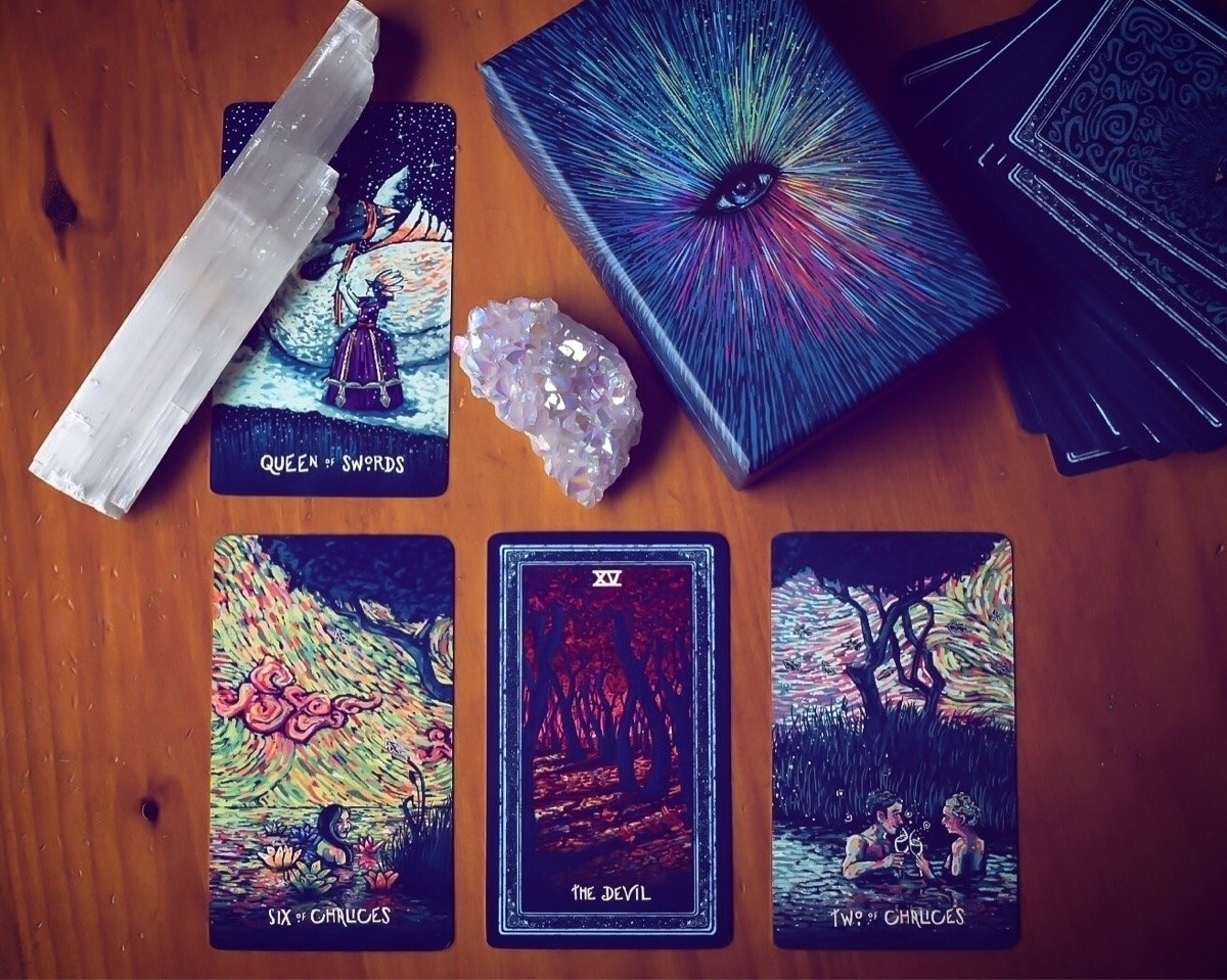 tarot, tarotcards, tarotreading - helloviolet | ello