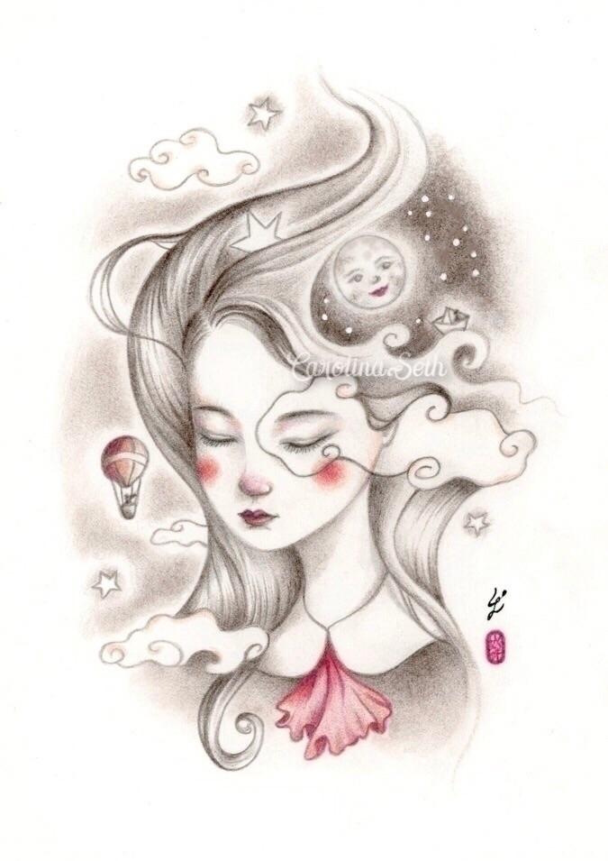 kid doodled daydreamed, teacher - carolinaseth | ello