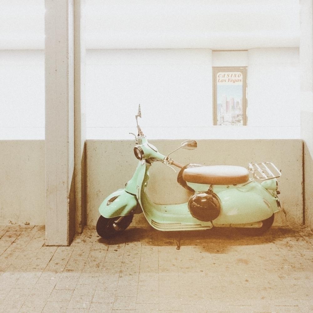 Casino Las Vegas - photography, scooter - marcushammerschmitt   ello