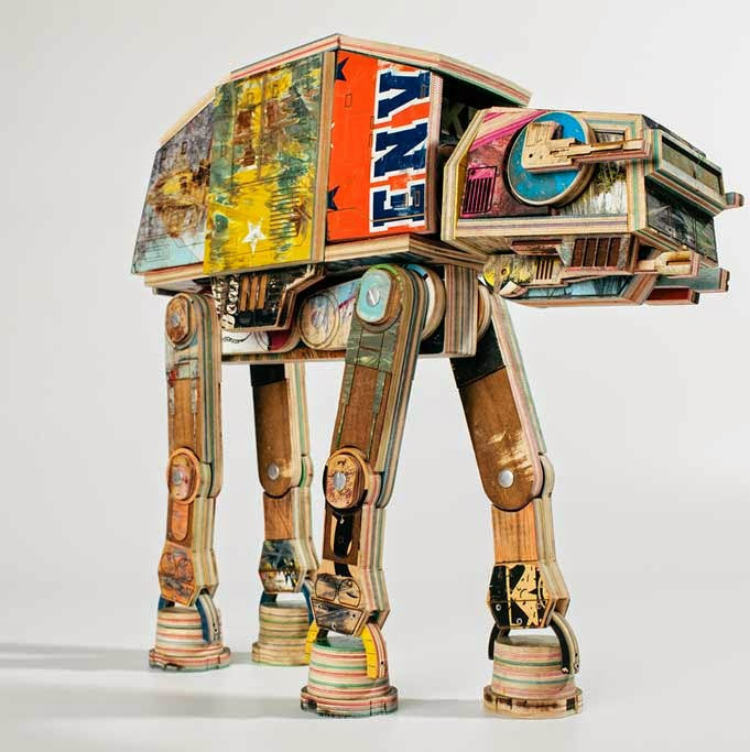 Walker Sculpture Star Wars skat - diogovarelasilva | ello