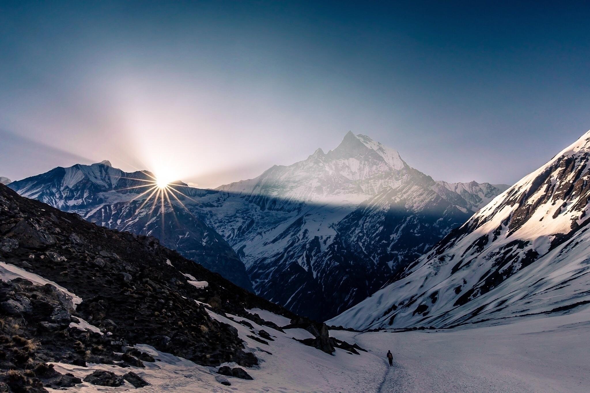 Annapurna Base Camp, Nepal Head - papa_delta   ello